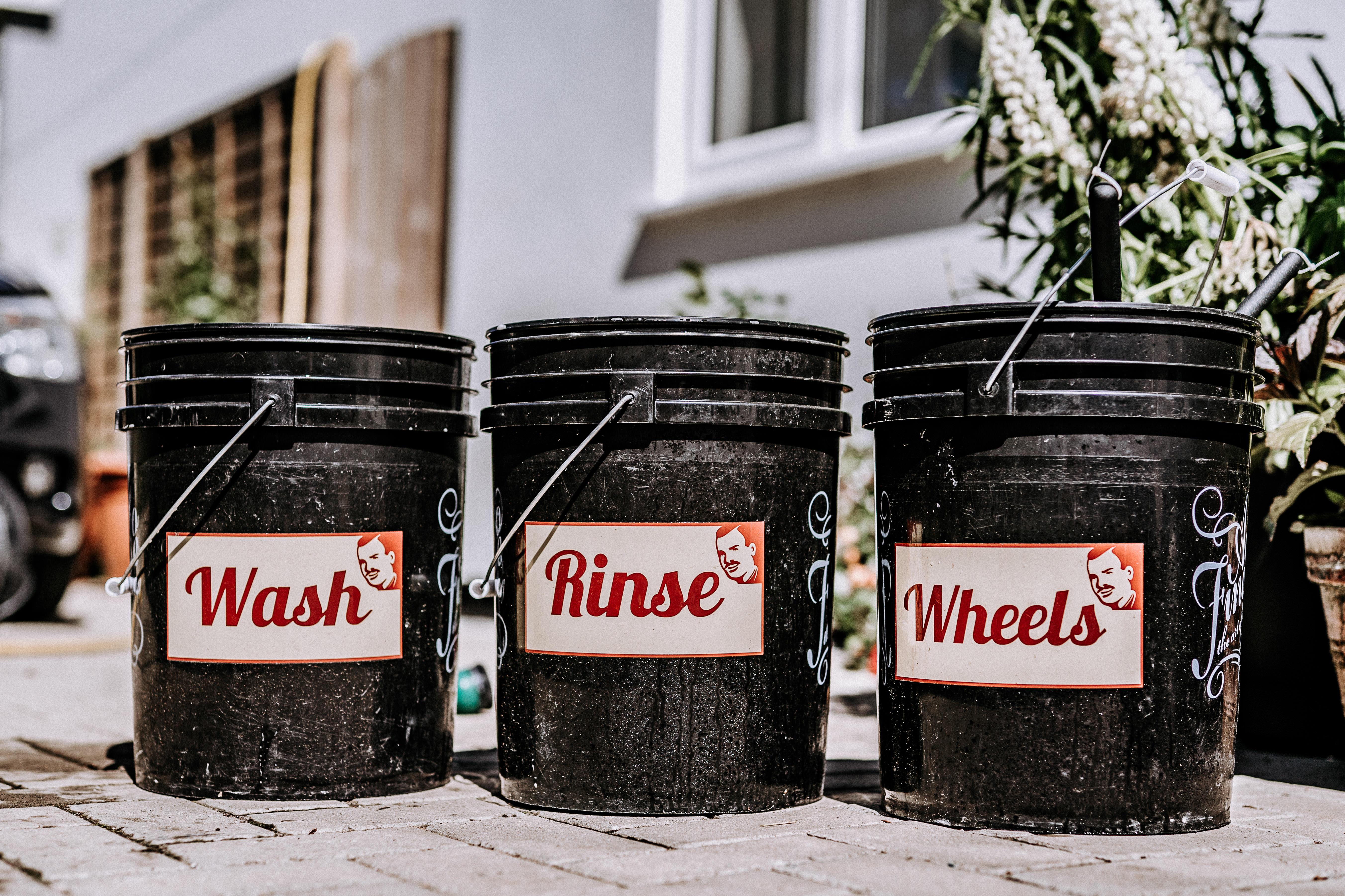 The 2 Bucket Wash Technique